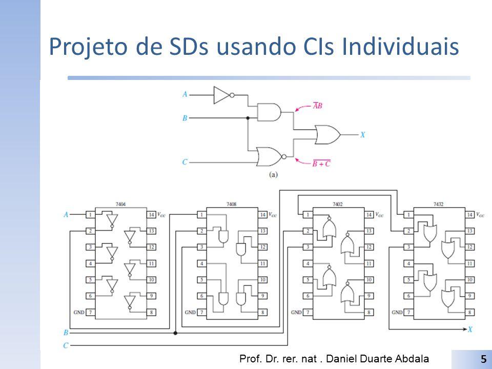 Projeto de SDs usando CIs Individuais