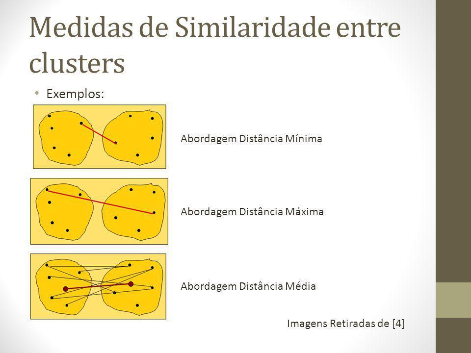 Medidas de Similaridade entre clusters