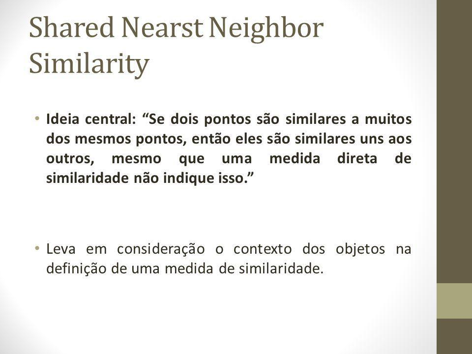 Shared Nearst Neighbor Similarity