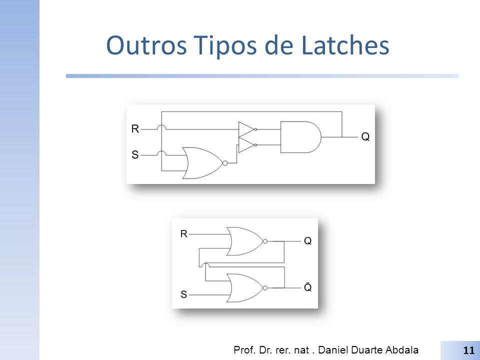 Outros Tipos de Latches