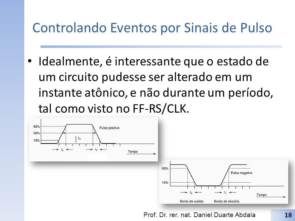Controlando Eventos por Sinais de Pulso