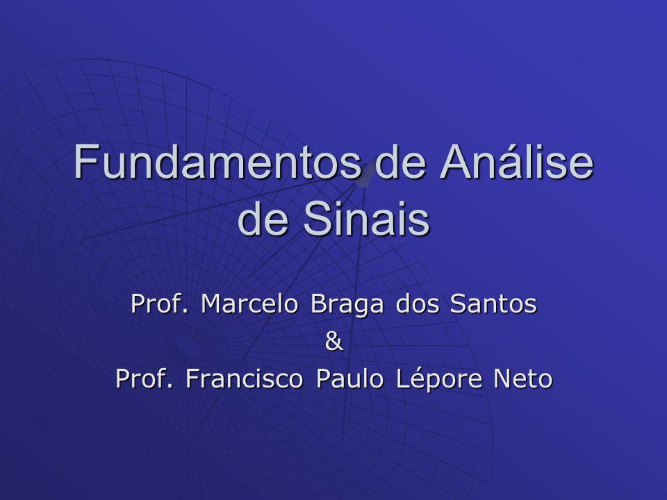 Fundamentos de Análise de Sinais