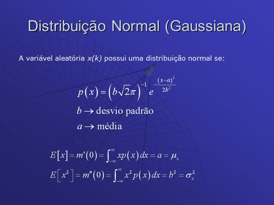 Distribuição Normal (Gaussiana)