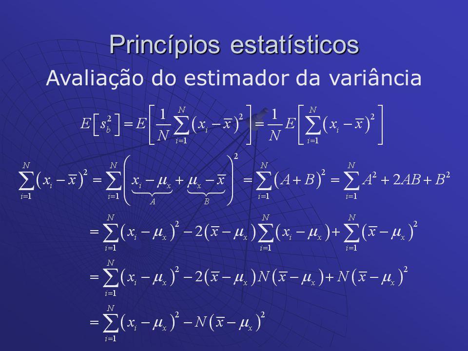 Princípios estatísticos