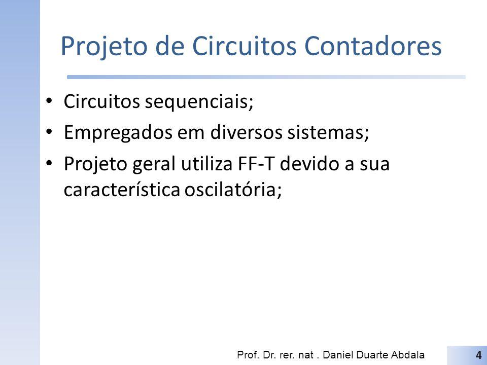 Projeto de Circuitos Contadores