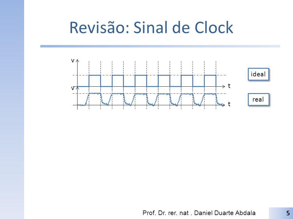 Revisão: Sinal de Clock