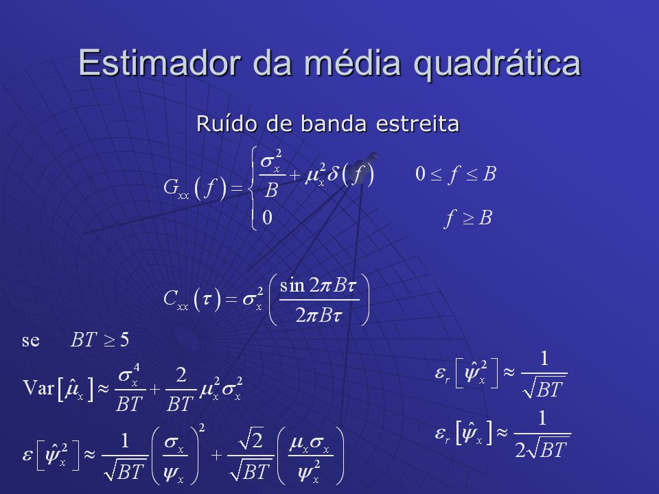 Estimador da média quadrática