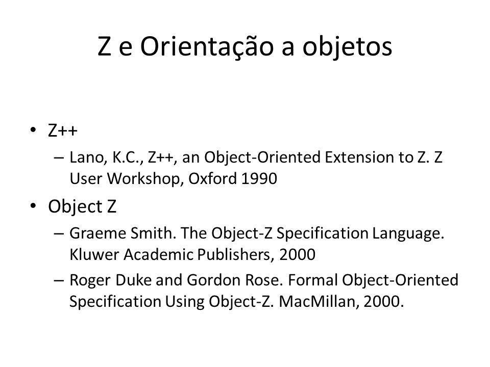 Z e Orientação a objetos