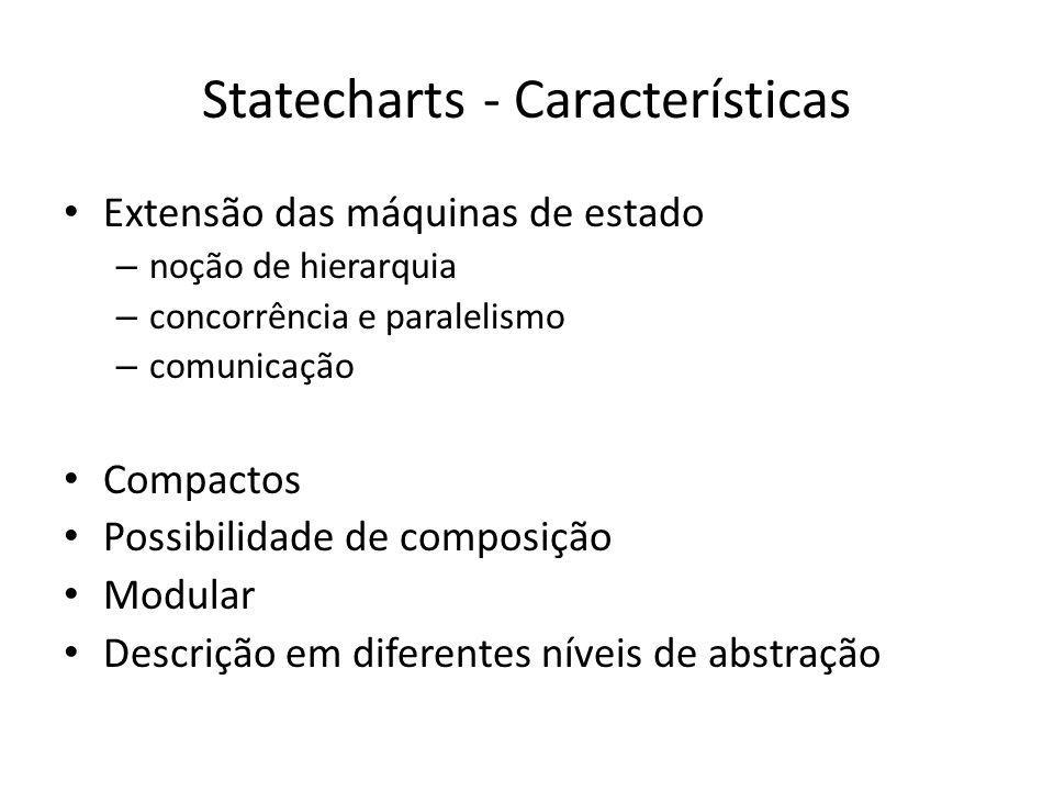 Statecharts - Características
