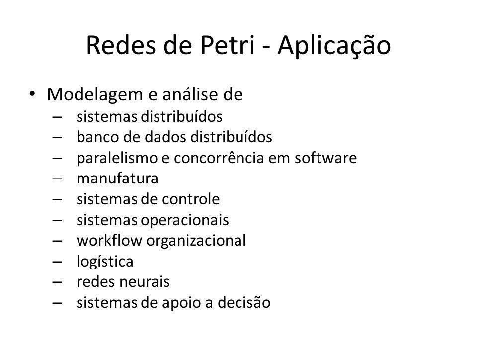 Redes de Petri - Aplicação