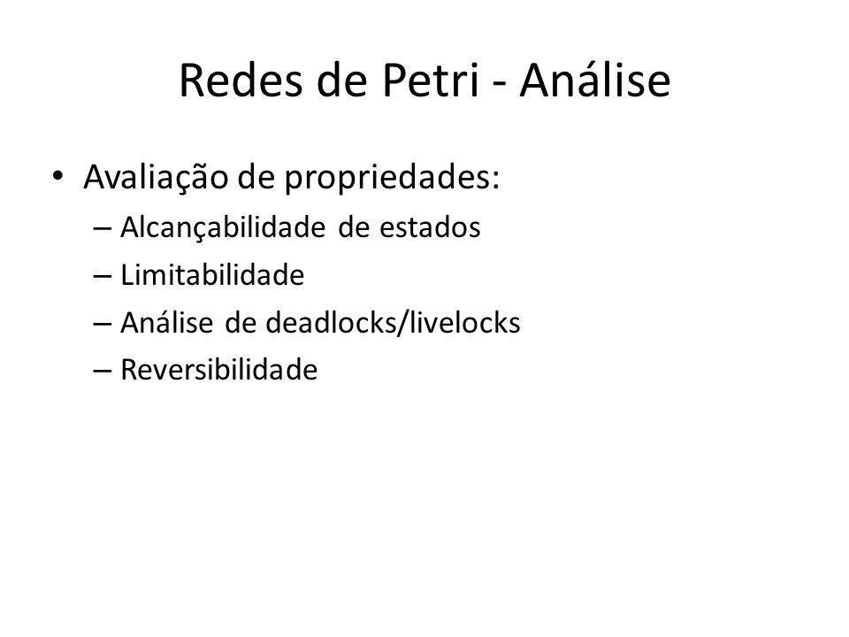 Redes de Petri - Análise