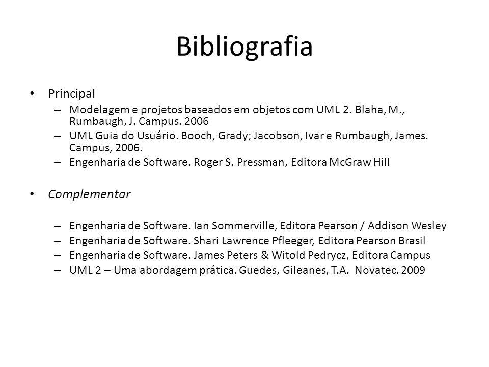 Bibliografia Principal Complementar