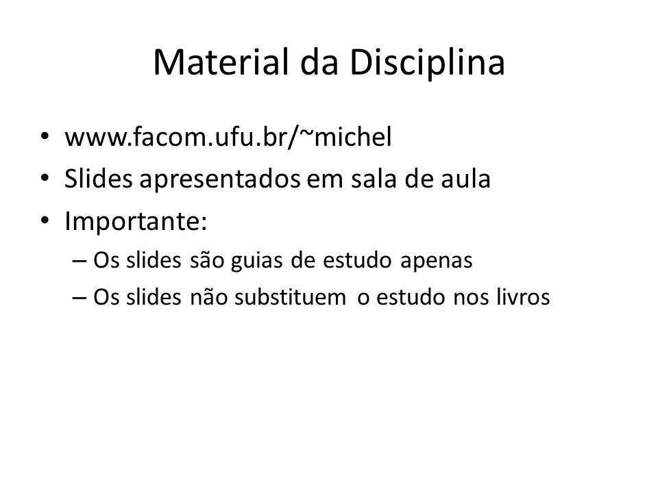 Material da Disciplina