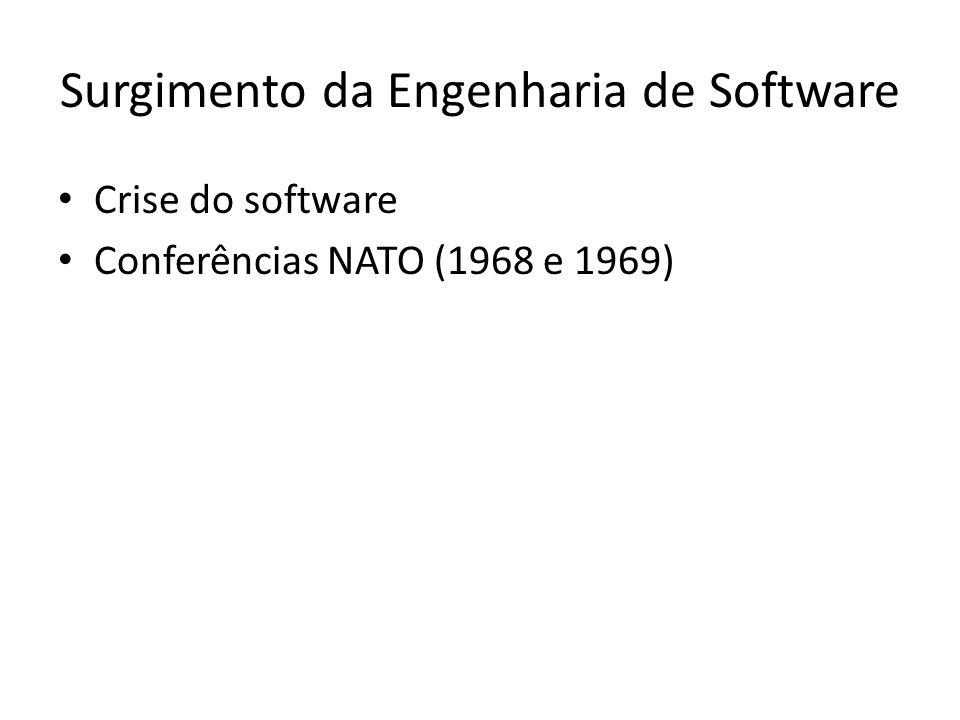 Surgimento da Engenharia de Software