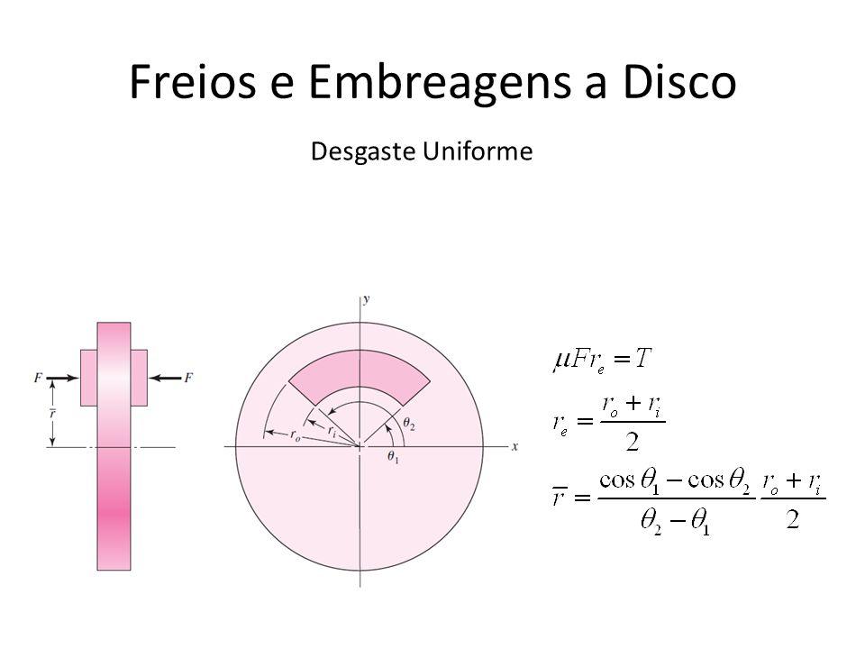 Freios e Embreagens a Disco