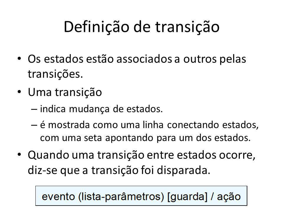 Definição de transição