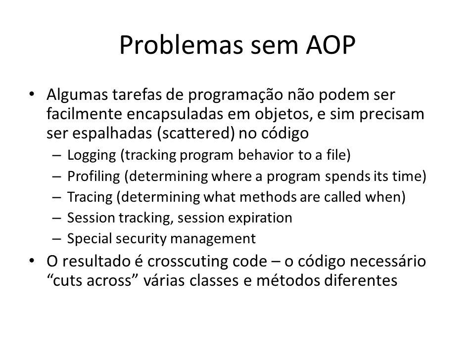 Problemas sem AOP