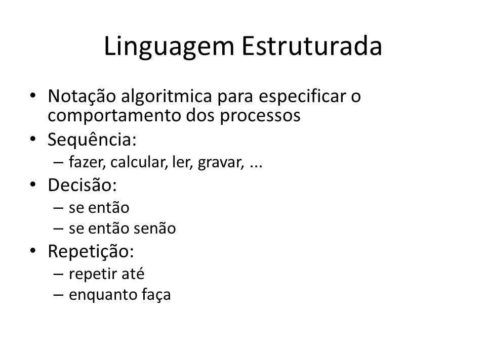 Linguagem Estruturada