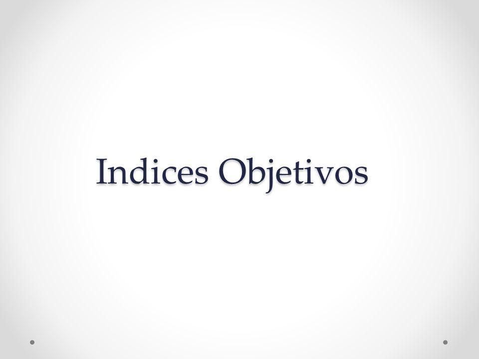 Indices Objetivos
