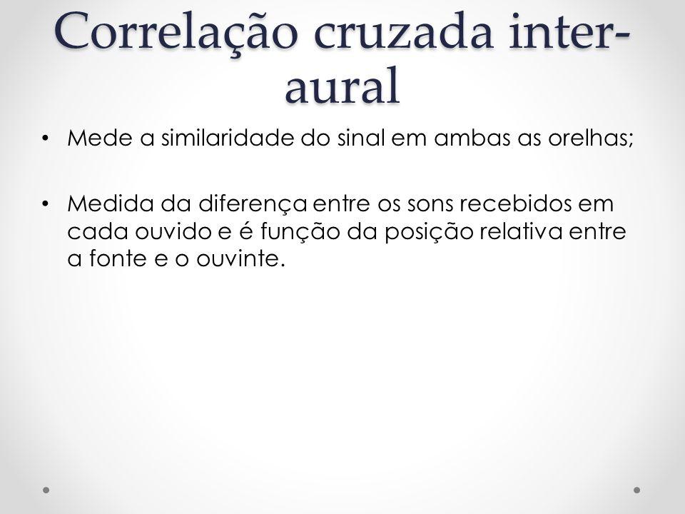 Correlação cruzada inter-aural