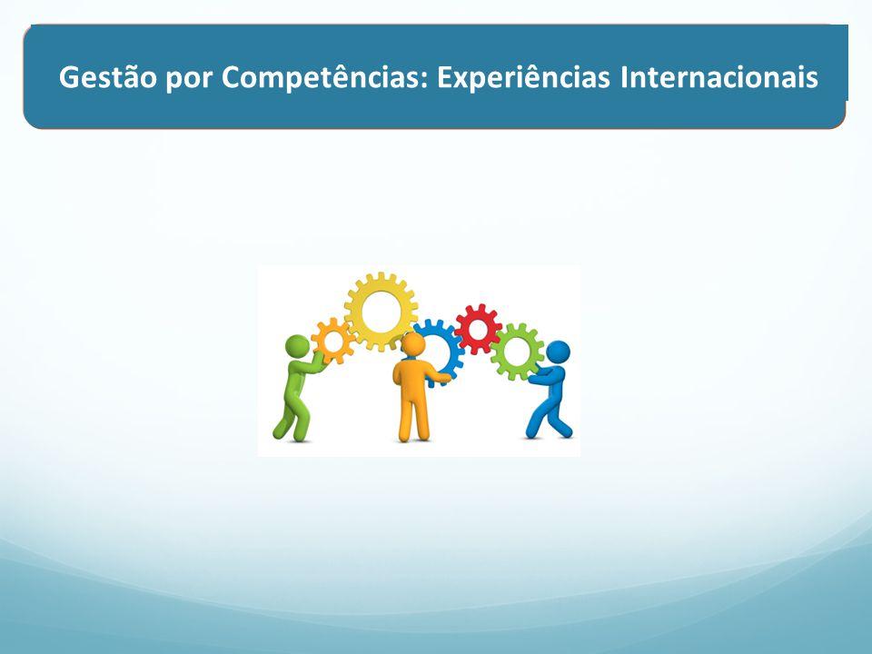 Gestão por Competências: Experiências Internacionais