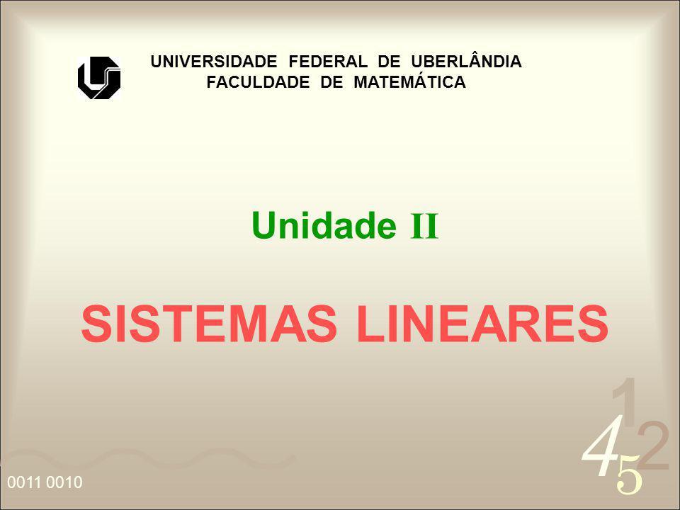 UNIVERSIDADE FEDERAL DE UBERLÂNDIA FACULDADE DE MATEMÁTICA