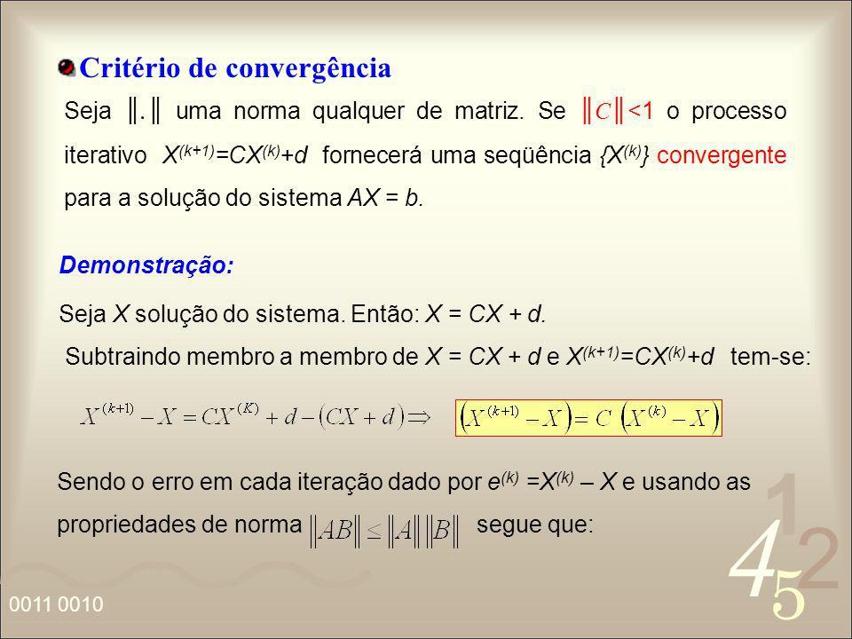 Critério de convergência