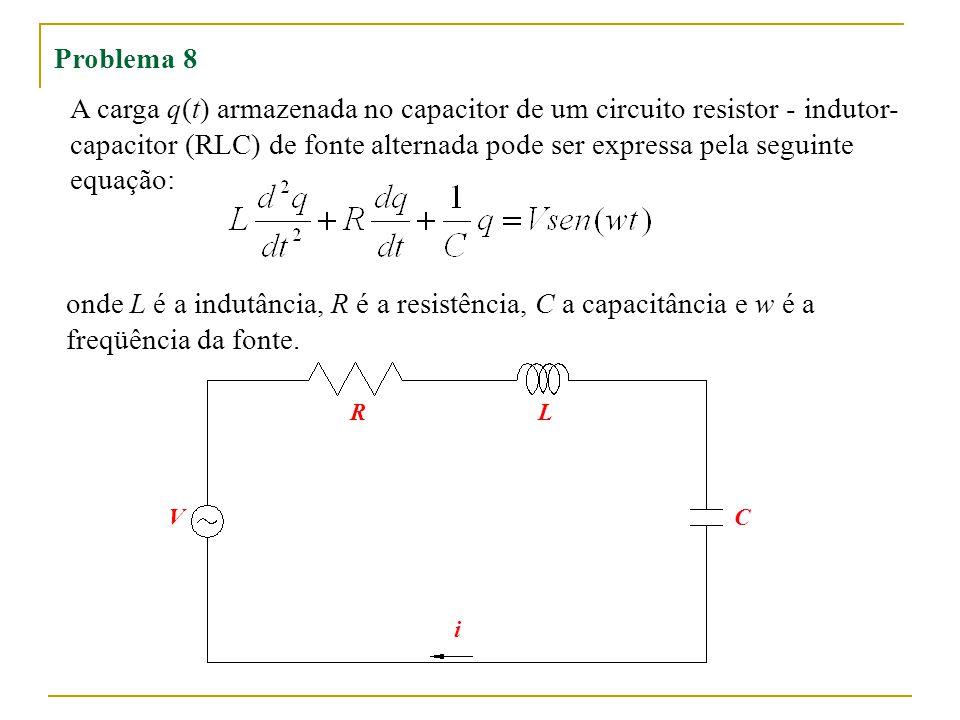capacitor (RLC) de fonte alternada pode ser expressa pela seguinte