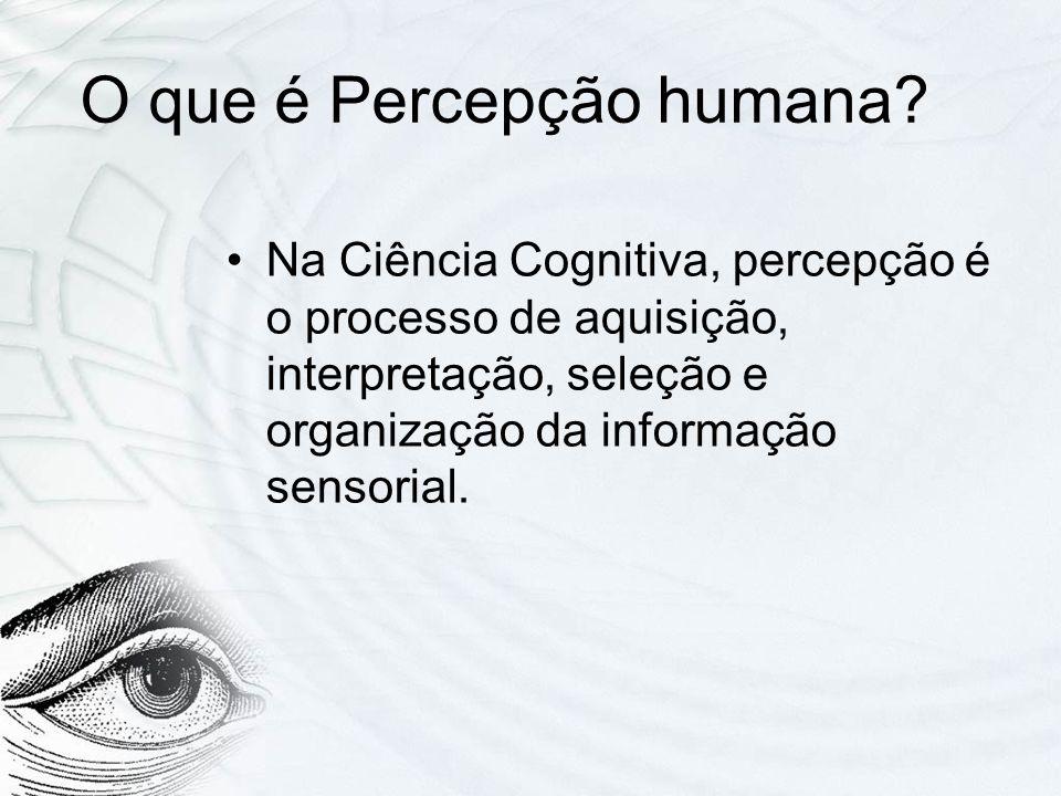 O que é Percepção humana