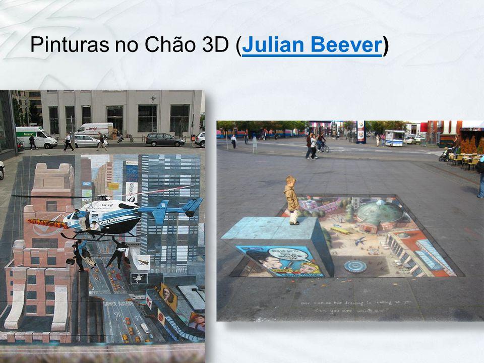 Pinturas no Chão 3D (Julian Beever)