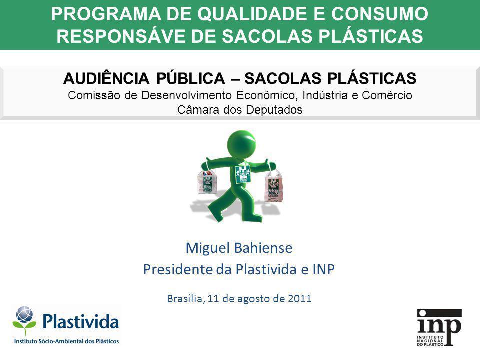 PROGRAMA DE QUALIDADE E CONSUMO RESPONSÁVE DE SACOLAS PLÁSTICAS