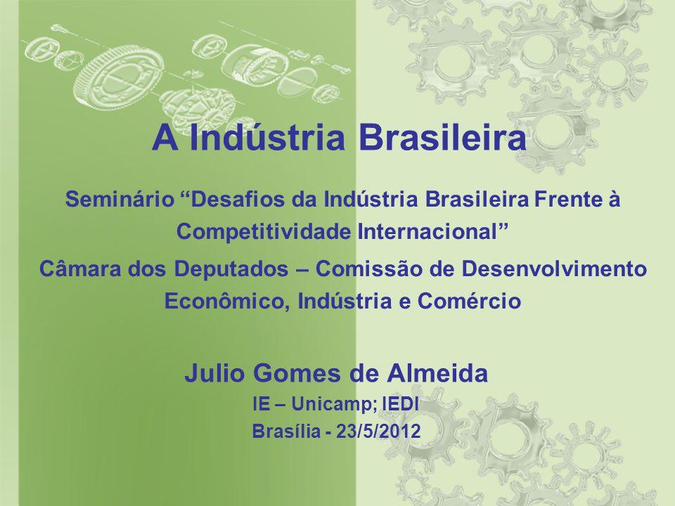 A Indústria Brasileira