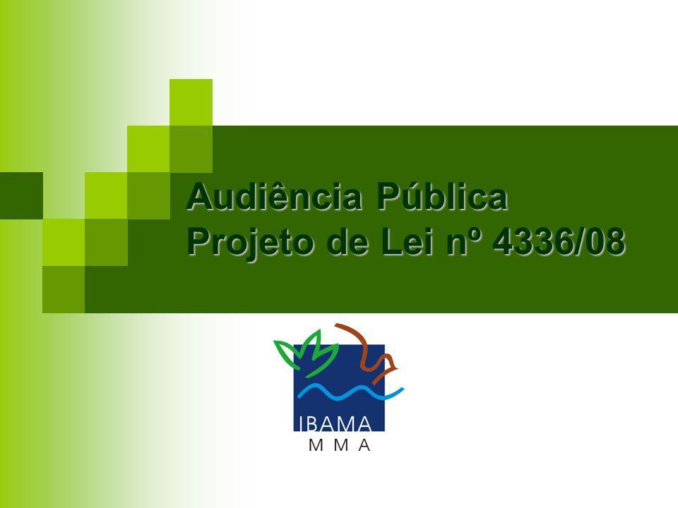Audiência Pública Projeto de Lei nº 4336/08