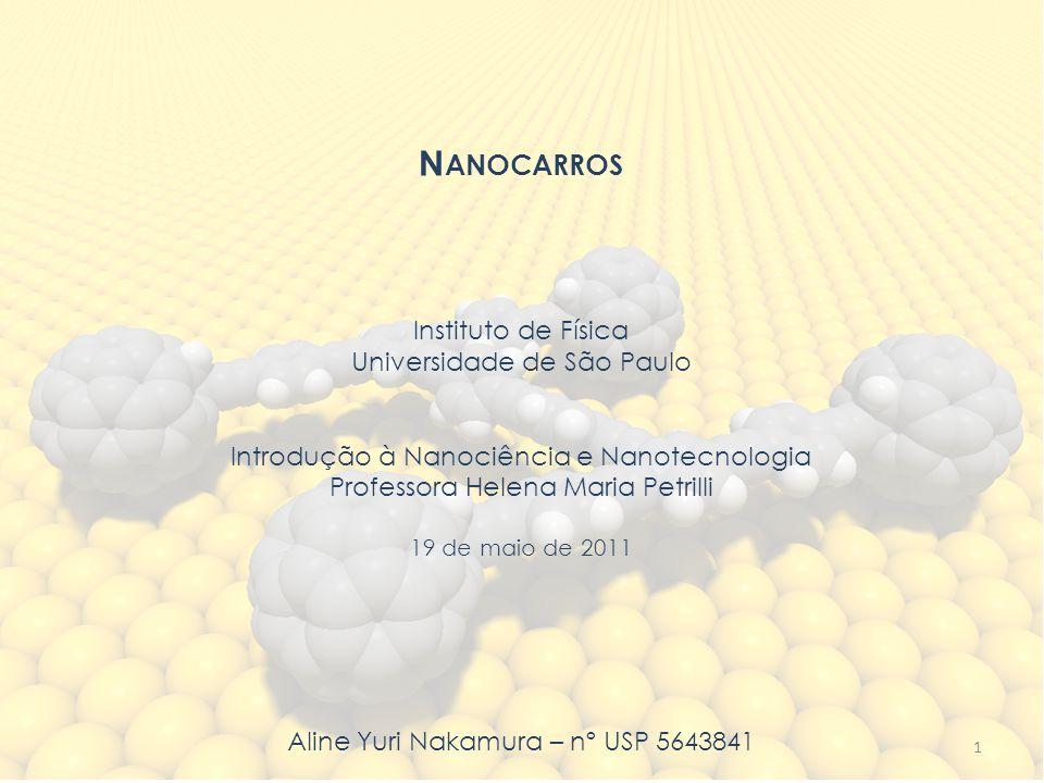 Nanocarros Instituto de Física Universidade de São Paulo