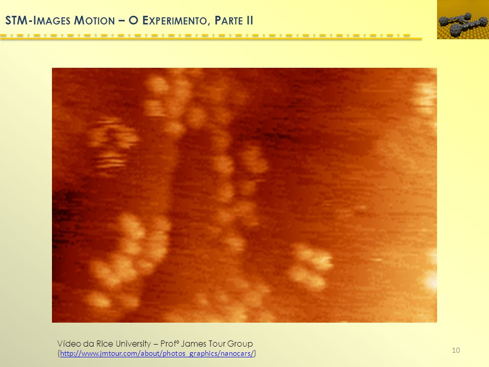 STM-Images Motion – O Experimento, Parte II