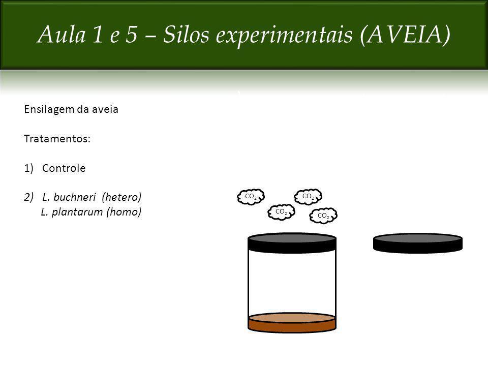 Aula 1 e 5 – Silos experimentais (AVEIA)