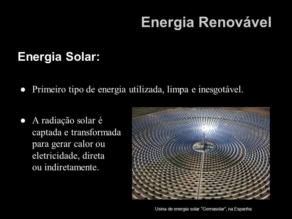 Energia Renovável Energia Solar: