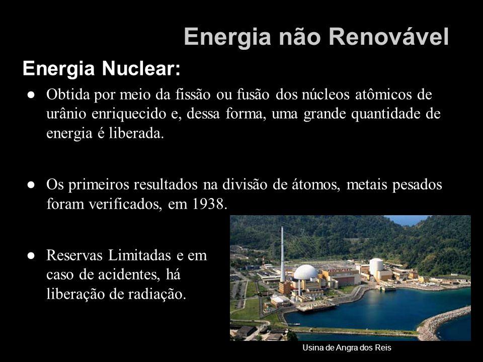 Energia não Renovável Energia Nuclear:
