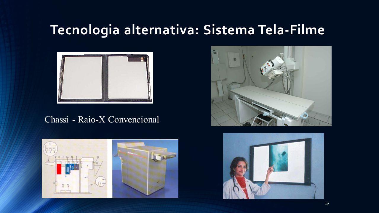 Tecnologia alternativa: Sistema Tela-Filme