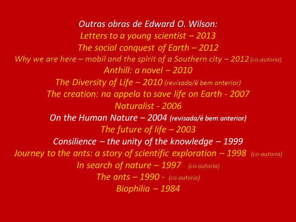 Outras obras de Edward O