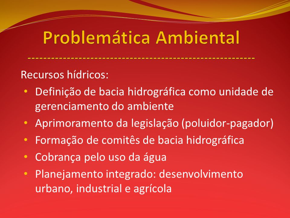 Problemática Ambiental ----------------------------------------------------------
