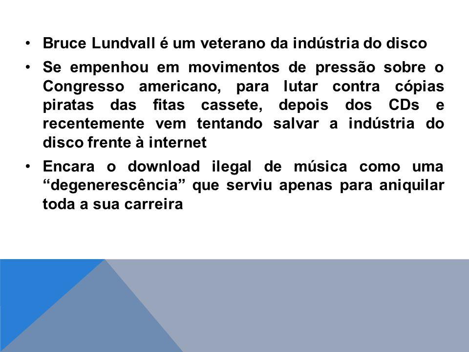 Bruce Lundvall é um veterano da indústria do disco