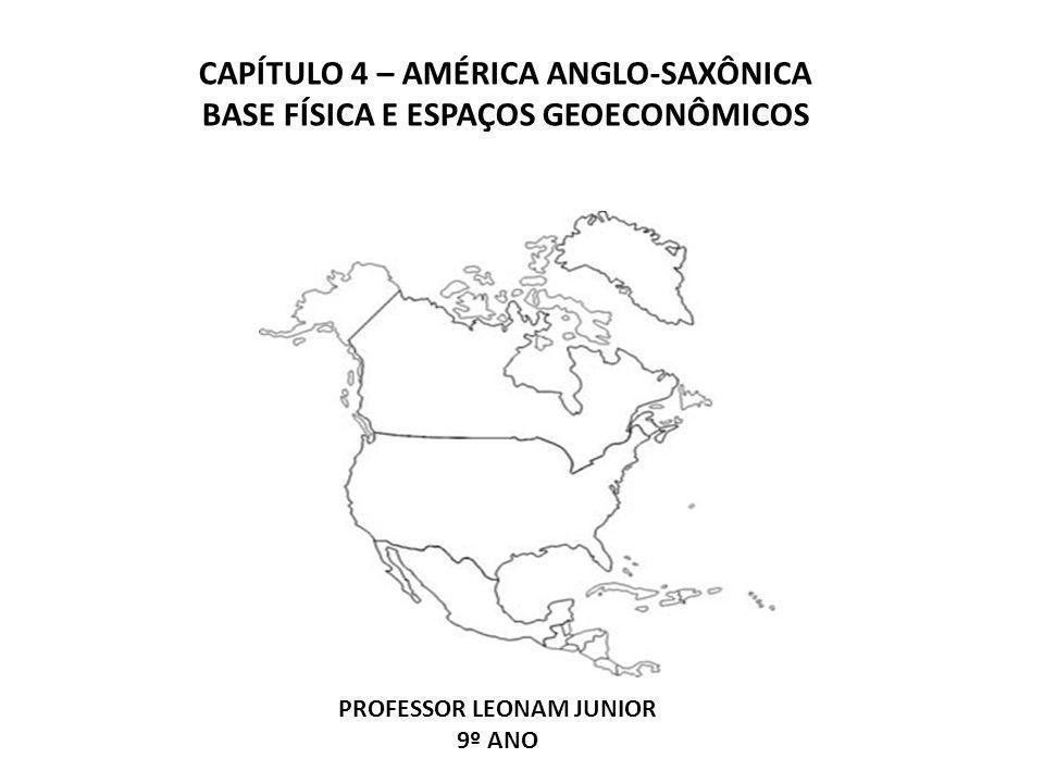 CAPÍTULO 4 – AMÉRICA ANGLO-SAXÔNICA