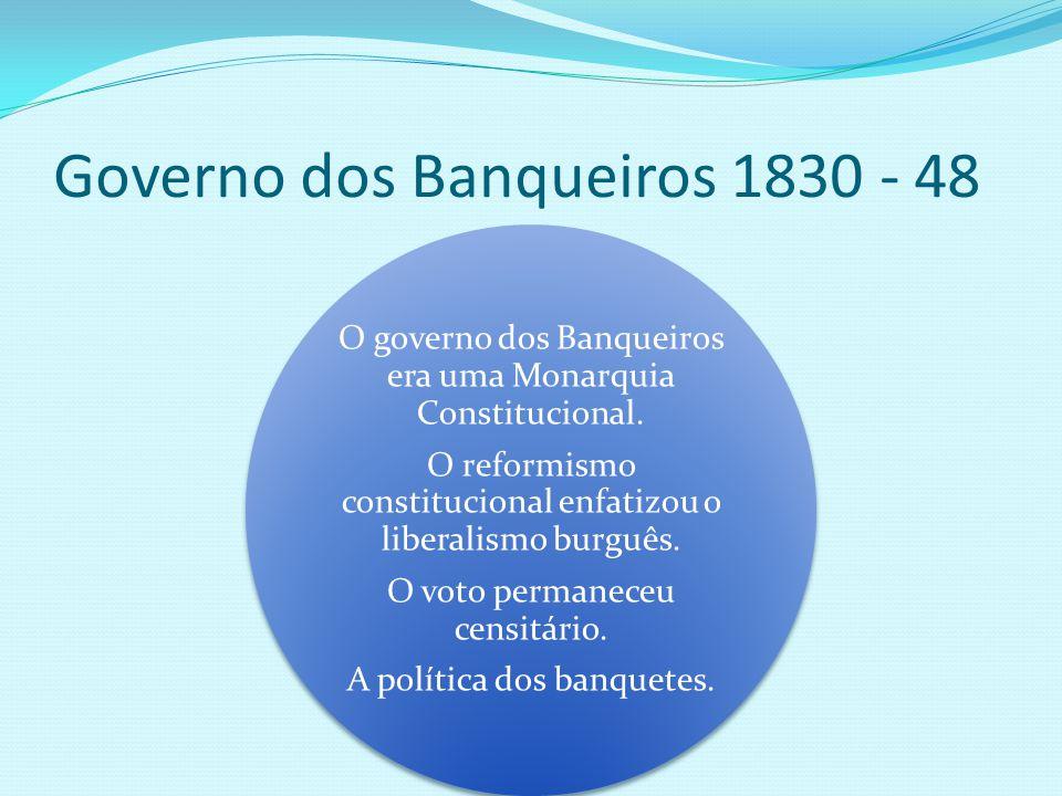 Governo dos Banqueiros 1830 - 48
