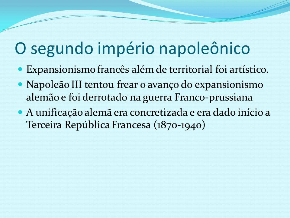 O segundo império napoleônico