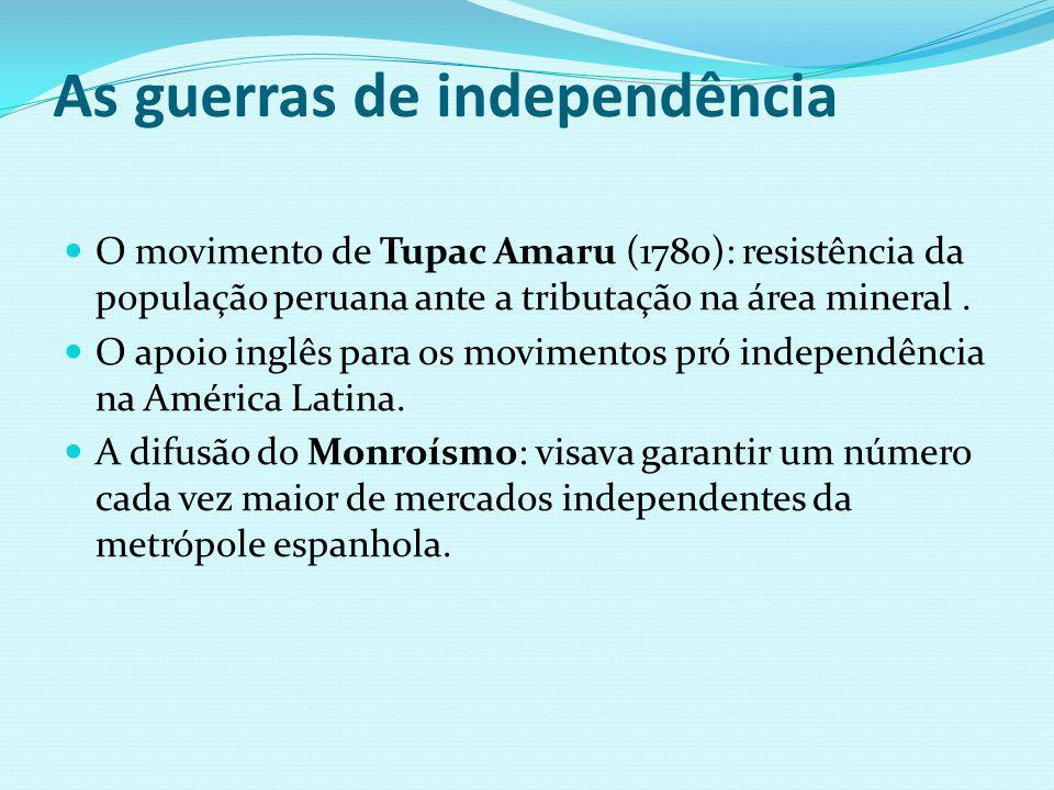 As guerras de independência