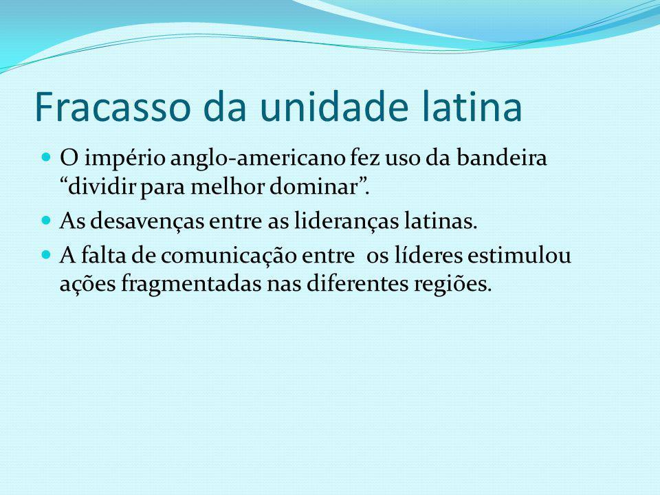 Fracasso da unidade latina