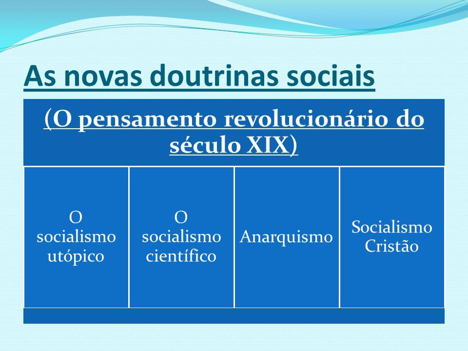 As novas doutrinas sociais