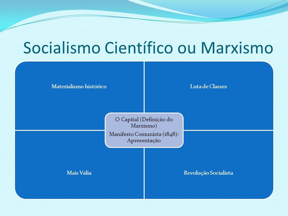 Socialismo Científico ou Marxismo