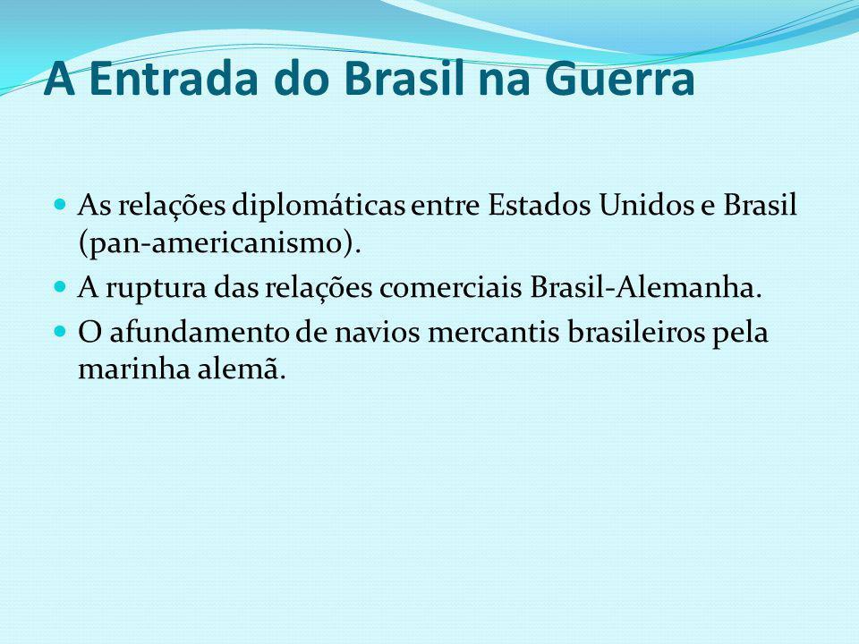 A Entrada do Brasil na Guerra